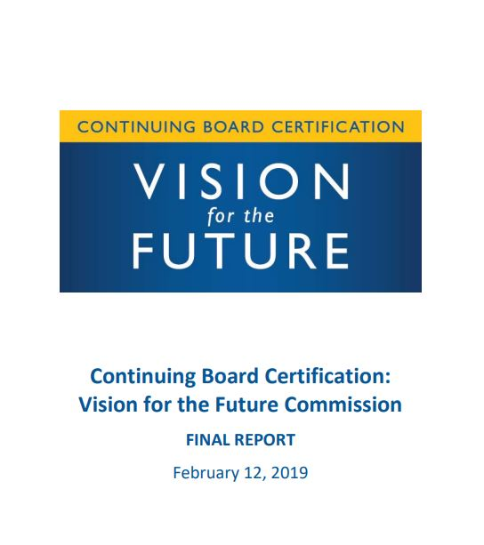 Vision for the Future Report