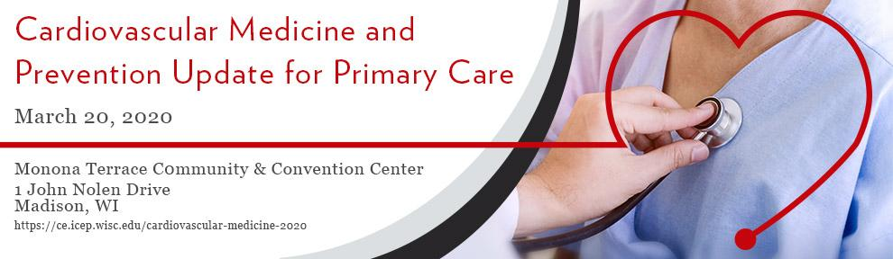 Cardiovascular Medicine and Prevention Update for Primary Care Conference Save the Date image