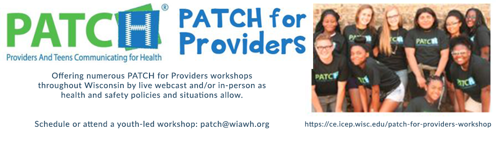 Save the Date Banner for Patch for Providers Workshop