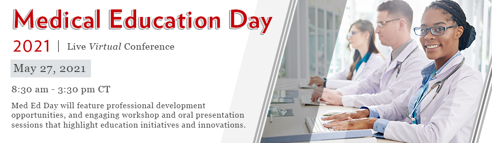Medical Education Day 2021 Virtual Conference Banner