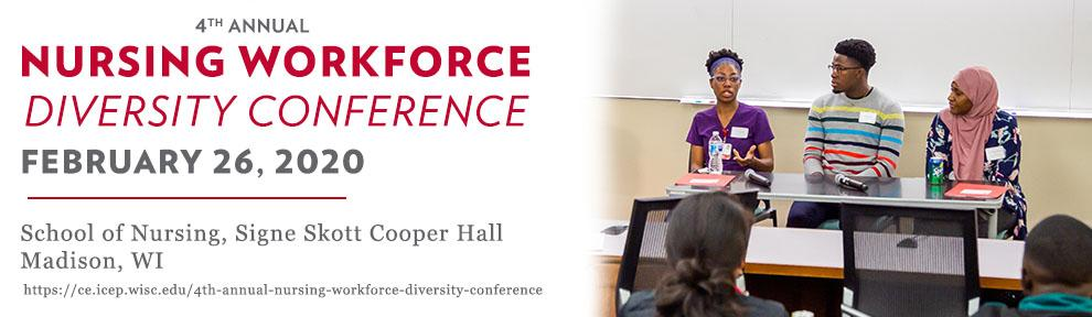 Save the Date image for Annual Nursing Workforce Diversity Conference